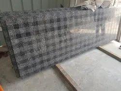 Polished Designer Chequered Granite Slab, Flooring