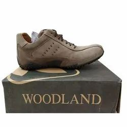 Daily Wear Mens Woodland Leather Shoes