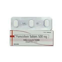 Microvir 500mg - Famciclovir 500mg Tablets