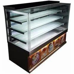 Rectangular Cake Display Counter