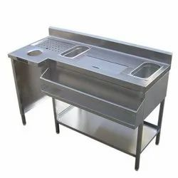 Cookman Silver Cocktail Station