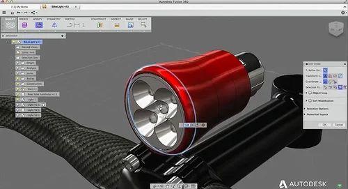 Fusion 360 Cloud Based 3D CAD CAM Software - Capricot