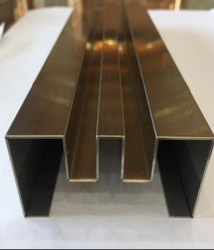 SS304 Ti Coated Decorative Profiles