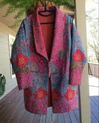 Long Kantha Ladies Jacket