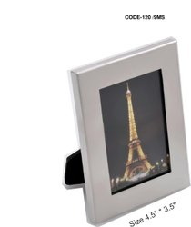 Steel photo frame, For Gift, Size: 4.5 Inch