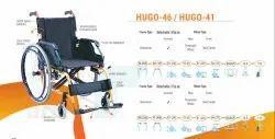 HUGO-46 & 41 Premium Aluminium Wheelchair