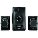 Black Philips 2.1 Mms2143b/94 Speaker System