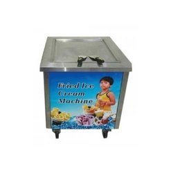 Fried Ice Cream Machine 600x600x710 Square Pan