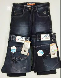 Hanex Faded Denim Jeans