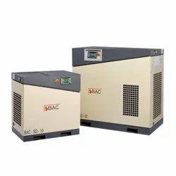BAC 15 HP VFD Rotary Screw Compressor, Maximum Flow Rate (cfm): 62 Cfm