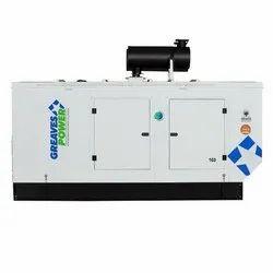 125 KVA Silent Diesel Cotton Greaves Power Genset, Three Phase