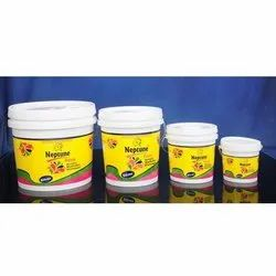 Shell White Mid Sheen Neptune Acrylic Distemper Paint, For Wall, Packaging Type: Bucket