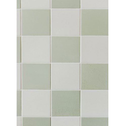 Light Green Ceramic Square Wall Tiles