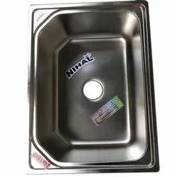 Nihal Single Bowl Stainless Steel Kitchen Sink