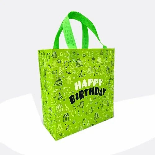 Printed Loop Handle Non Woven Carry Bag