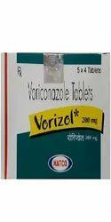 Vorizol Voriconazole 200 Mg Tablets