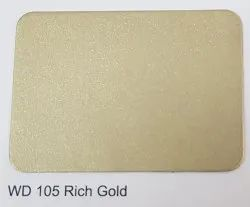 Wd-105 Rich Gold ACP Sheets