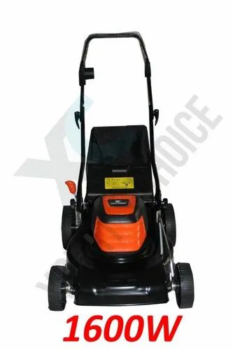 XPERT' S CHOICE BLACK 1600w Electric Lawn Mower With Metal Casing, Size/Dimension: 66*51*33 Cm, 400mm