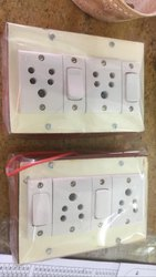 kattiyam Switch Board (for Extension use), Module Size: 4x4 6x4 8 X4 Etc
