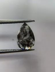 Pear Shape Salt And Pepper Diamond