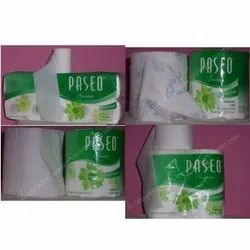 Wood Pulp Plain paseo Smart 2 Ply Toilet Rolls, GSM: 80 - 120 GSM, Packaging Type: Box