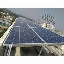 Solar Panel Roof Top Mounting Structure