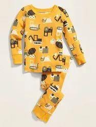 Cotton BABY PYJAMA Boys Night Suit