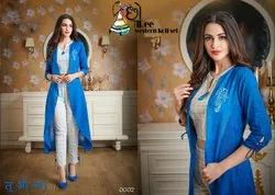 Western Koti Set Choree Re 3 Piece Suit