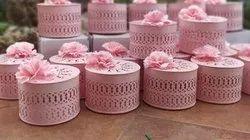 Pink Round Gift Box