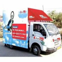 Mobile Van Canter Advertising