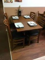 Wooden Second Hand Restaurant Furniture, Seating Capacity: 1 - 6