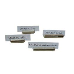 Capsule Bullet Name Tag or Card Holder