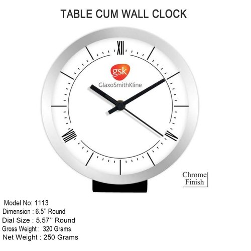 Branded Table Cum Wall Clock