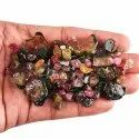 Natural Raw Multi Tourmaline Polished Slices  Rough Gemstones