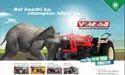 Vst Shakti Dual Plate Clutch 9054 Di Viraaj Xp Tractor