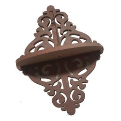 Beige Wooden Design Wood Craft, For home, Size: 13