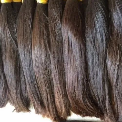 Female Unprocessed Virgin Hair Indian Straight Hair, Hair Grade: 9aaa, for  Personal, Rs 3000 /piece | ID: 14735150812