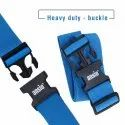 Luggage Strap Fully Adjustable Packing Belt For Suitcases And Travel Luggage 200cm x 5cm - Blue