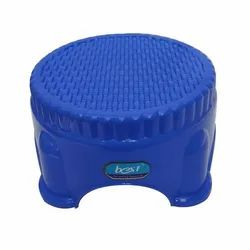 Blue Small Plastic Bathroom Stool