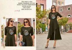 Rachna Premium Cotton Delicate Embroidery Work Page-3 Catalog Kurti For Women 7