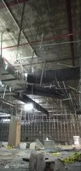 jsw GI HVAC DUCTING, For Office Use, Capacity: 100 Sft To 50000 Sqft