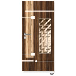 Sharpe Cutting Designs Hinged 965 Wood Designer Door