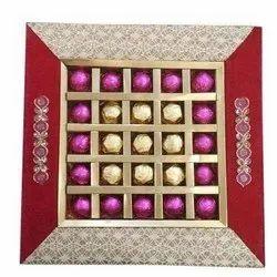 Black Diwali Chocolate Packaging Tray