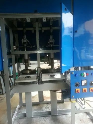 Semi Automatic Double Die Paper Bowl Making Machine