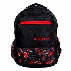 Kelvin Planck Bagpack 15L Black Printed Shoulder Backpack