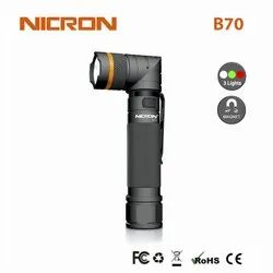 Aluminium B70 800Lm Nicron USB Rechargeable Aluminum LED Flashlight