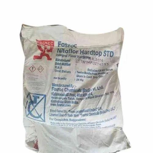 Fosroc Nitoflor Hardtop Std Floor Hardener For Construction Rs 525 Bag Id 22481597497