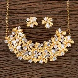 Designer Gold Plated Classic Necklace 350327