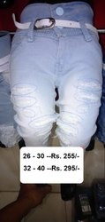 Stretchable Comfort Girls Stylish Jeans, 0 -15, Packaging Type: Poly Pack