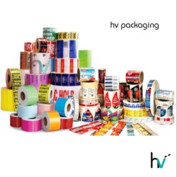 Paper Label Stickers Printing Services, For Industrial, in Mumbai